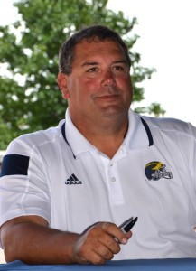 College football coach Brady Hoke