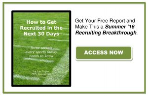 How to Get Recruited in 30 Days Free Report Button
